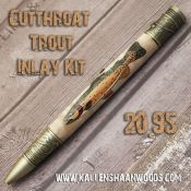 Cutthroat Trout Inlay Kit
