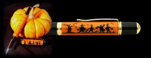 Halloween Epoxy Filled Pen