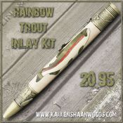 Rainbow Trout Inlay Kit