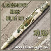 Largemouth Bass Inlay Kit